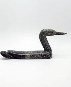 Inuit sculpture Sanguani Oshuitok Loon