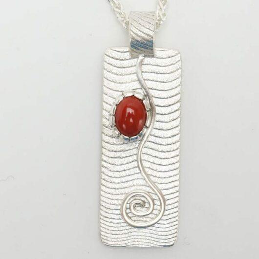 Althea Cajero coral necklace