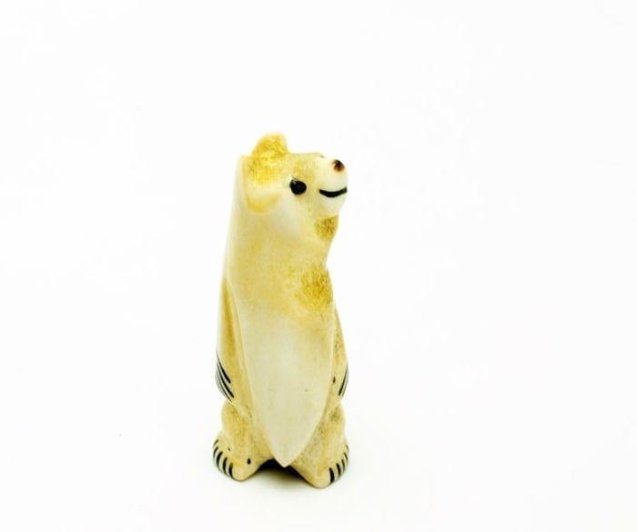 Claudia Peina standing bear
