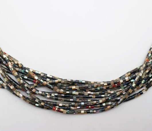 Deanna Tenorio ten strand abalone necklace