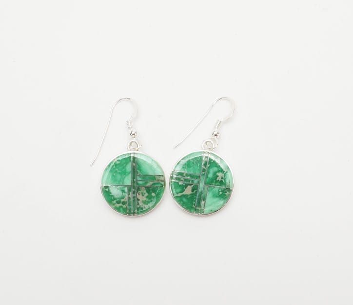 Earl Plummer round varisicte earrings