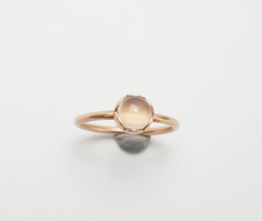 Heidi BigKnife Rose Gold Ring