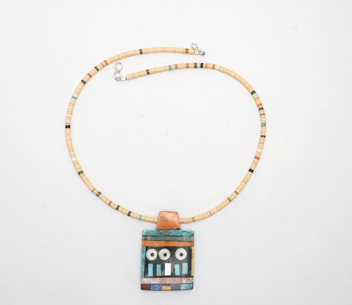 Mary Tafoya geometric necklace