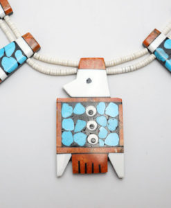 Mary Tafoya Thunderbird Necklace