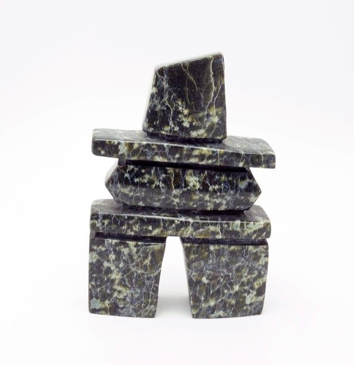 Inuit sculpture Tommy Saila inukshuk