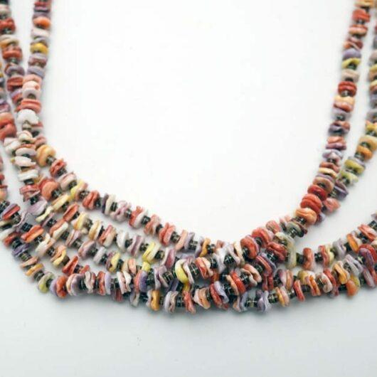 Verla Coriz shell necklace