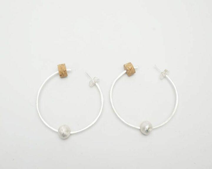 Heidi BigKnife Hoop earrings