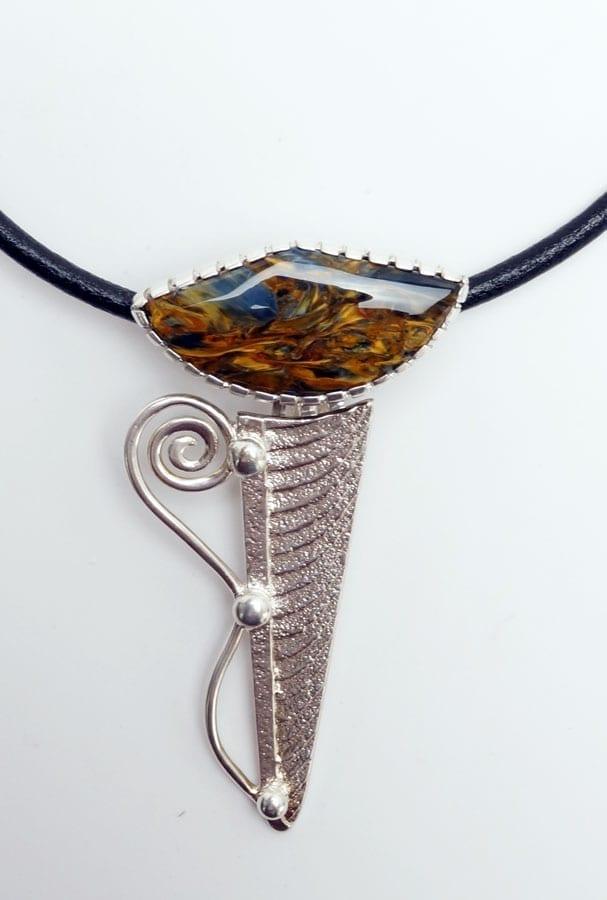 Althea Cajero Petersite Necklace