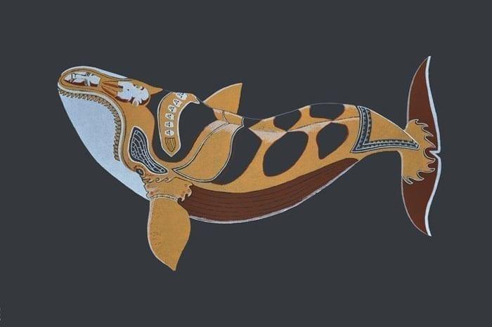 Tim Pitsiulak Tattooed Whale