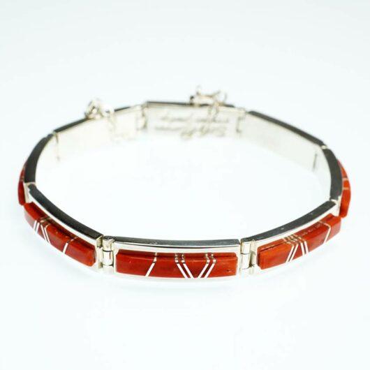 Earl Plummer coral link bracelet