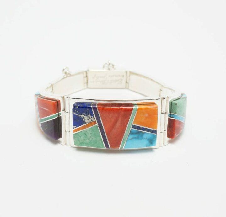 Earl Plummer Multi-material wide link bracelet