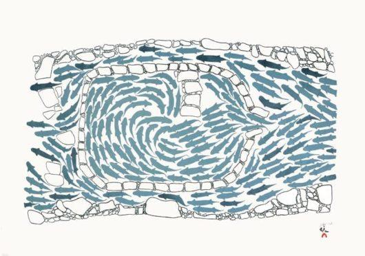 Simeonie Teevee Handmade Fish Weir