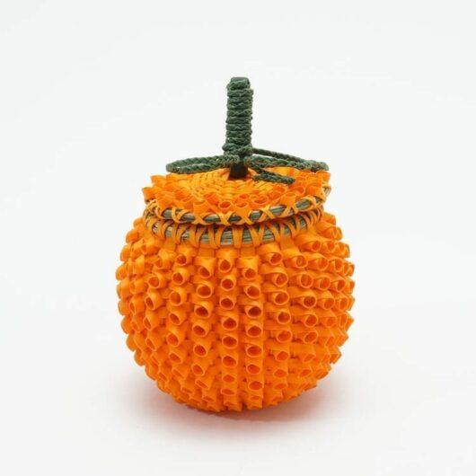 Ganessa Frey miniature pumpkin basket