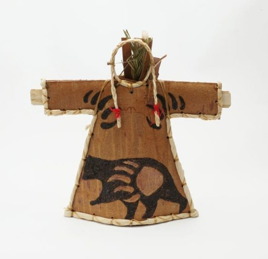 Aron Griffith Birch Bark Bear Doll