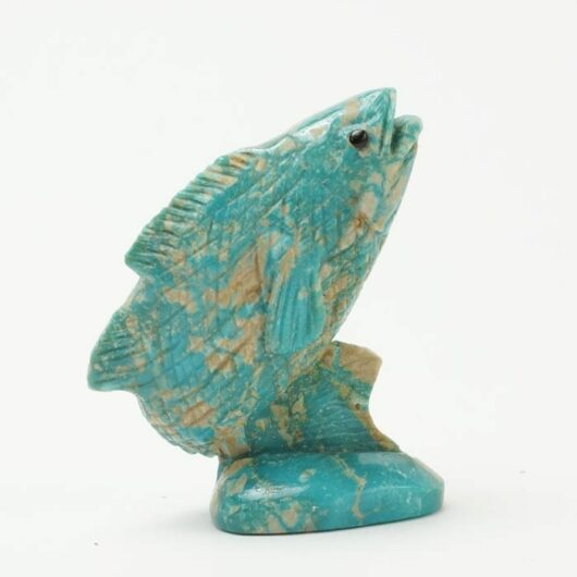 Eddington Hannaweeke turquoise fish