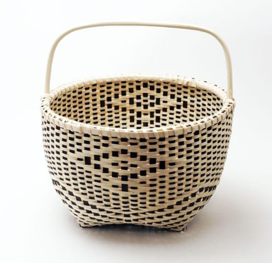 Fred Tomah eagle basket