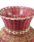 Dolly-Barnes-Maroon-Basket-Vase-ME00469-3