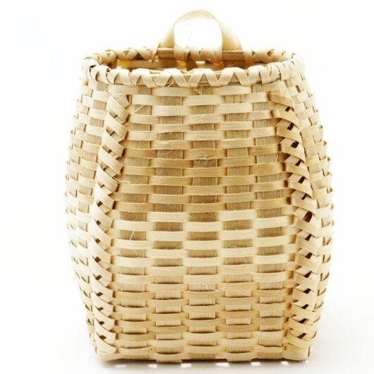 Miniature ash pack basket