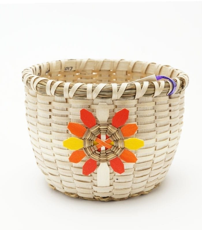 Sue Thompson Button Basket