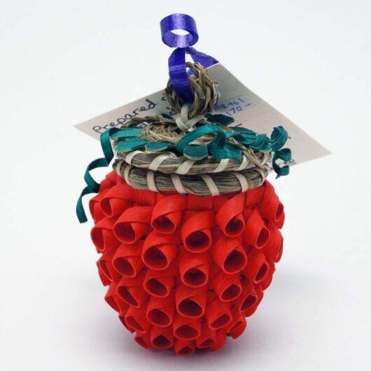 Sue Thompson strawberry basket