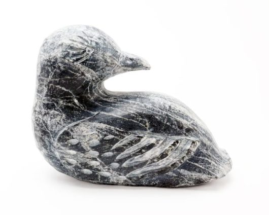 Inuit sculpture vintage bird
