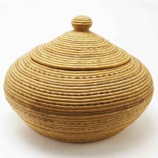 Large Vintage Hooper Bay Basket