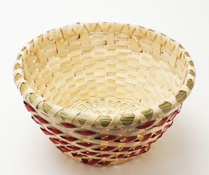 Butch Jacobs open Wooden basket
