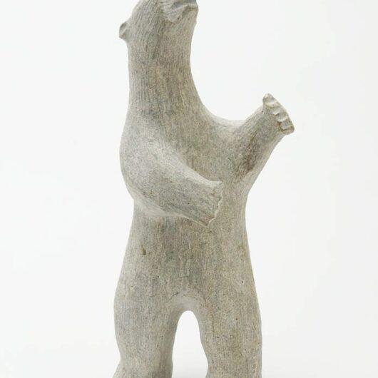Louis Makkituk grey basaltic bear