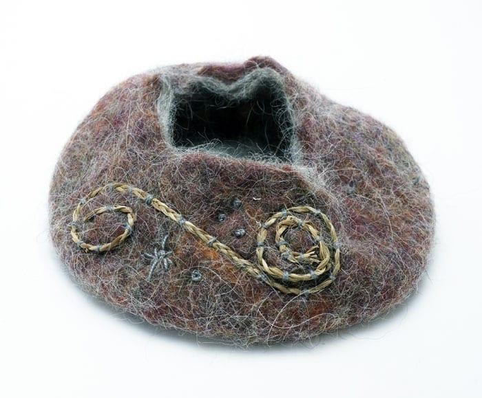 Pam Cunningham wool basket