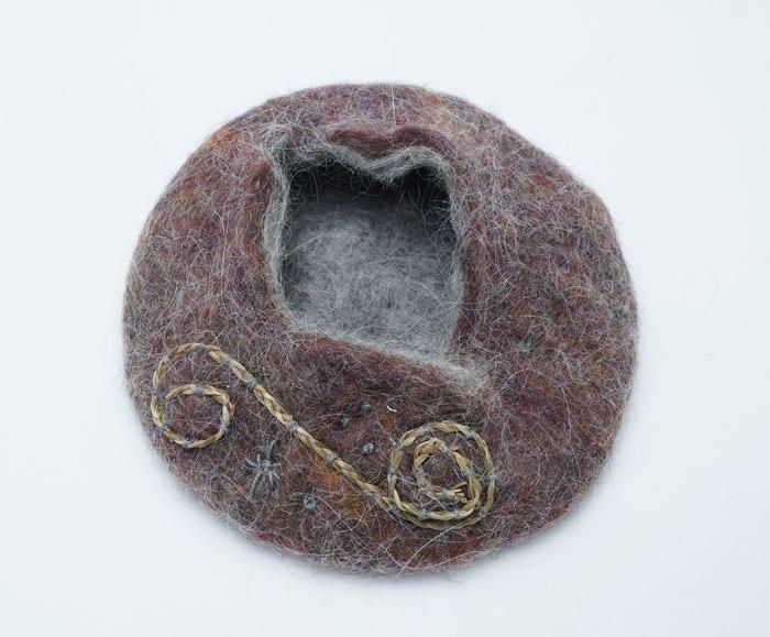 Pam Cunningham wool basket Online