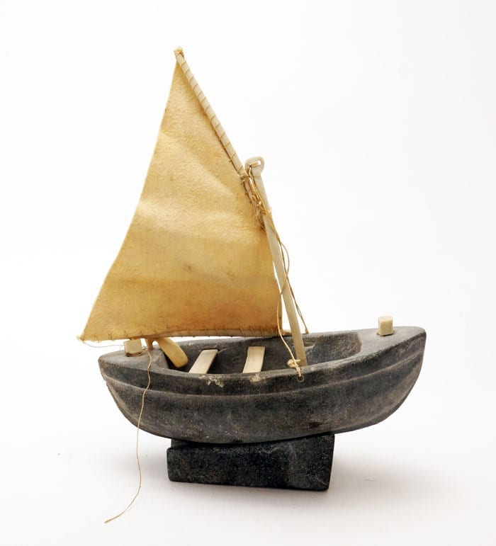 Celina Seelenak Putulik sailboat sculpture