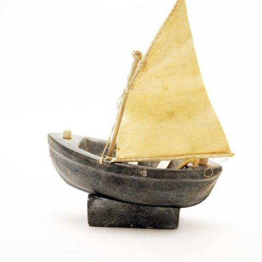 Celina Seelenak Putulik boat sculpture