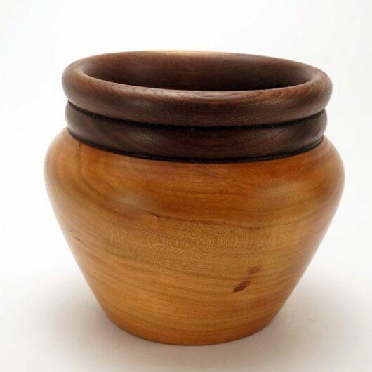 Dewey Owl cherry-walnut bowl