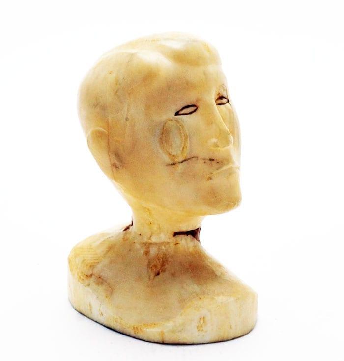 vintage ivory doll head