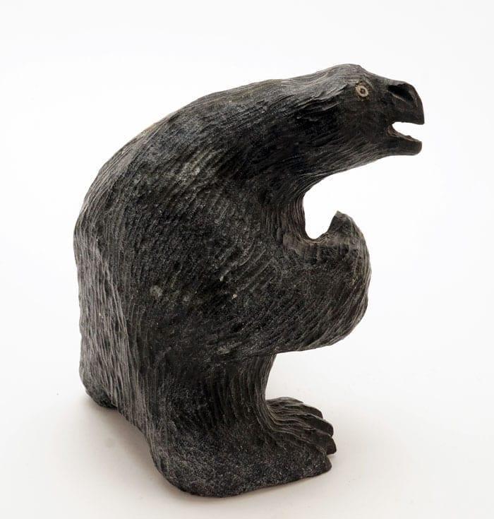 Gideon Qauqjuaq transformation sculpture