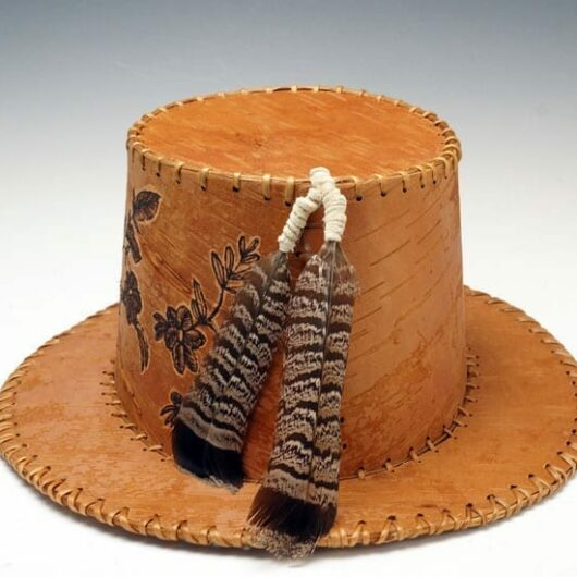 Gina Brooks Birch Bark Hat