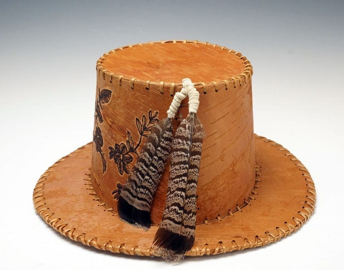 Gina Brooks Birch Bark Hat