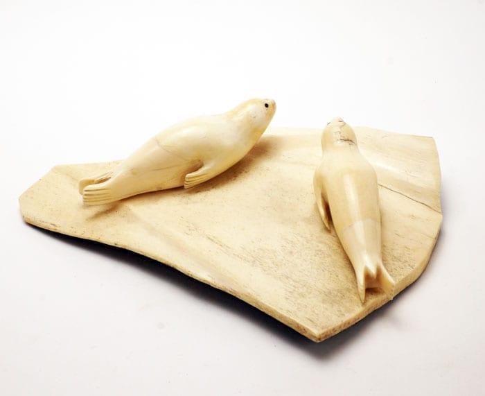 Vintage ivory seals