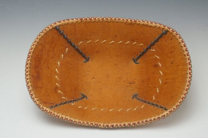 Dorothy Savage Joseph Birch Bark Bowl