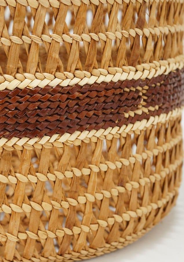 Eliasica Timmerman Cedar Wooden Basket