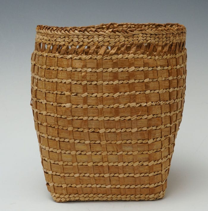 Loa Ryan cedar bark basket