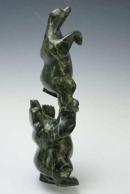 Moe Pootoogook acrobatic bears