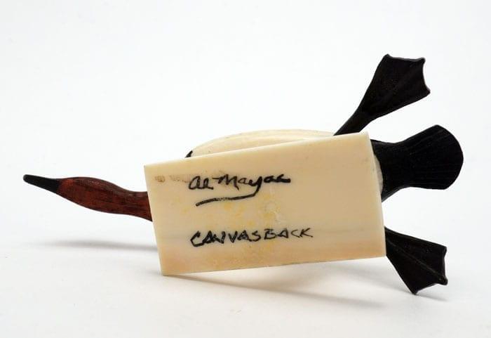 Al Mayac Canvasback Duck