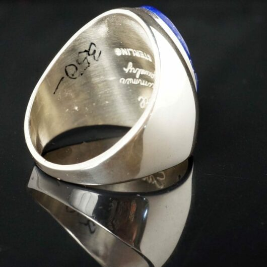 Earl Plummer Inlaid Lapis Lazuli Ring Online