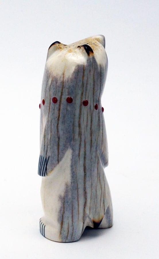 Gabe Sice Antler Inlaid Standing Wooden Bear Online