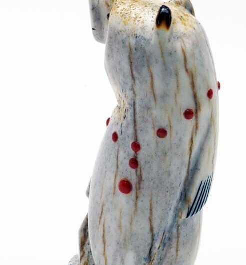 Buy Gabe Sice Antler Inlaid Standing Bear 3