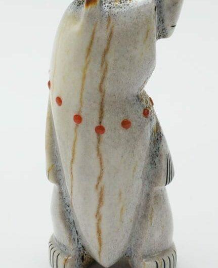Gabe Sice Antler Inlaid Standing Bear 3