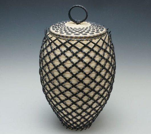Jeremy Frey cage Basket