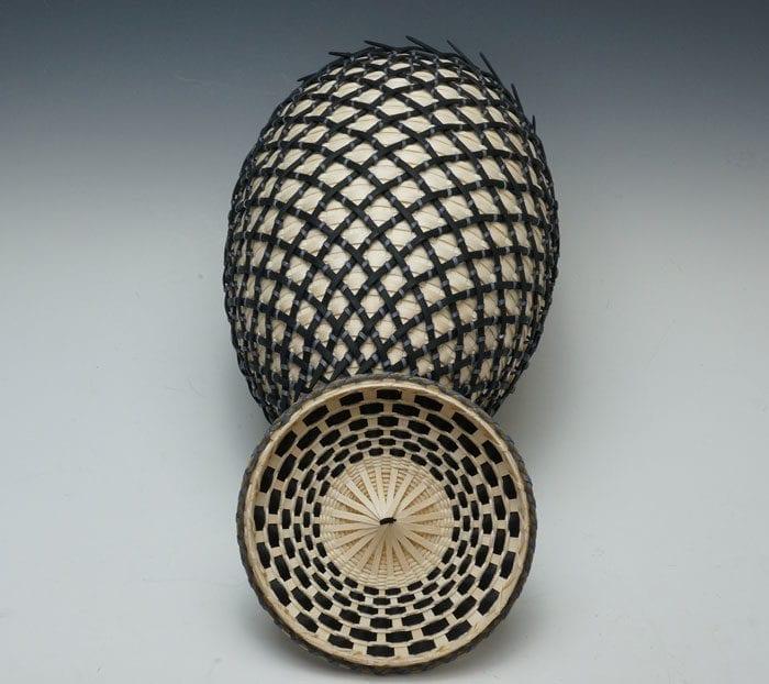 Jeremy Frey cage Wood Basket