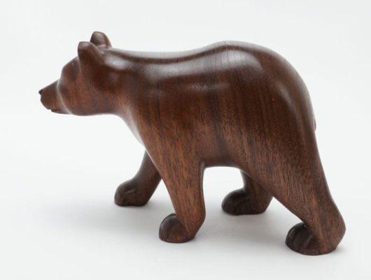Robbie Craig Walnut Wood Bear